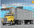 Пазл - грузовик