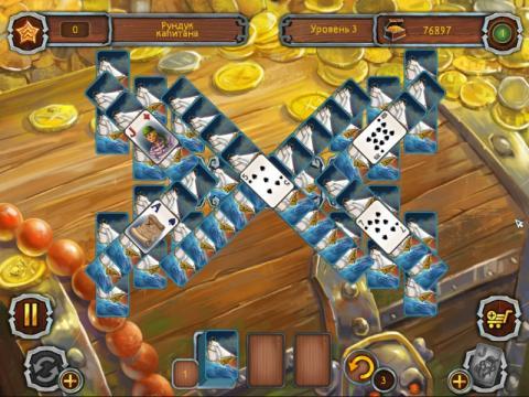 Пиратский Пасьянс 2 Скриншот - 1