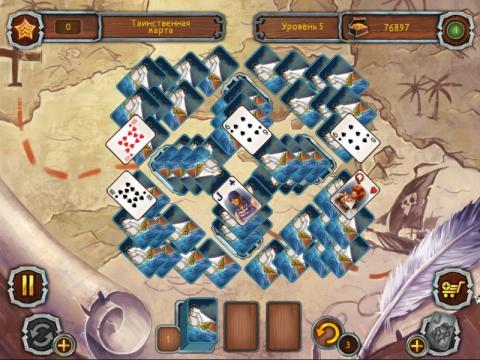 Пиратский Пасьянс 2 Скриншот - 2