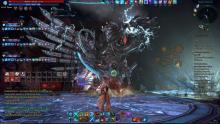 Скриншот игры TERA: The Battle For The New World битва с боссом