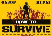 Обзор игры How to Survive.