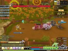 Скриншот игры - Драконика (бой)